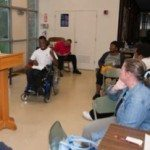 Brown, who serves as the pastoral presence for the congregation, describes their outreach as a ministry to the differently-abled and their families.