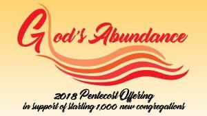 2018 Pentecost Offering logo