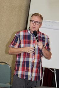 Rev. Rich McCullen at the 2016 Leadership Academy